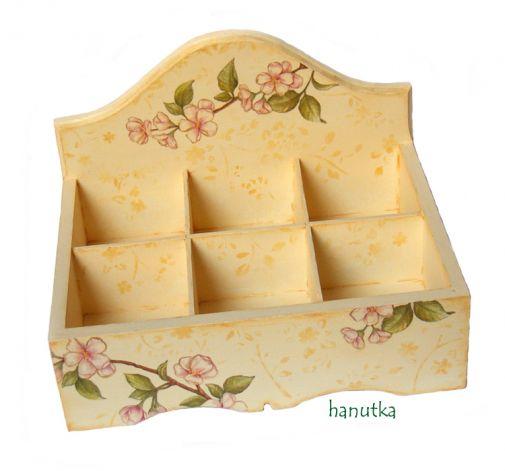 WIOSNA - pudełko na herbatę
