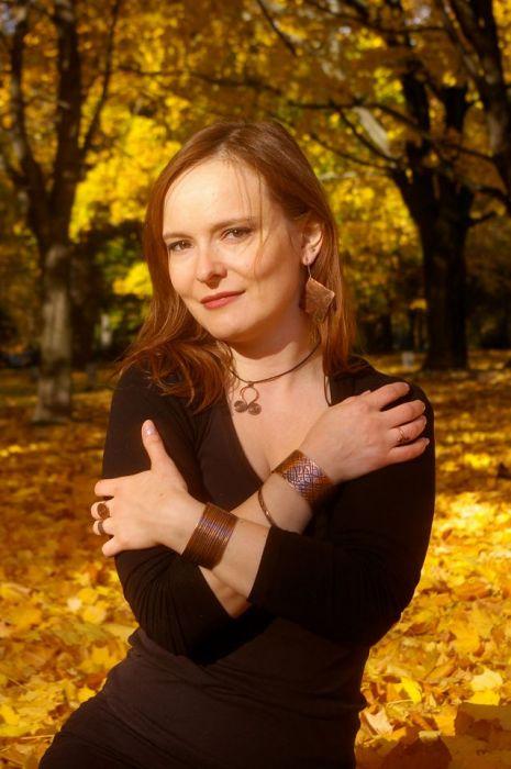 Żwirek - Miedziana bransoletka 180107-02 - Miedziana biżuteria