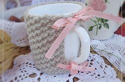 Sweterek na kubek - Cup Cozy I'm sweet