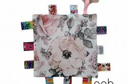 Szmatka sensoryczna Kwiaty z gryzakiem (403761)
