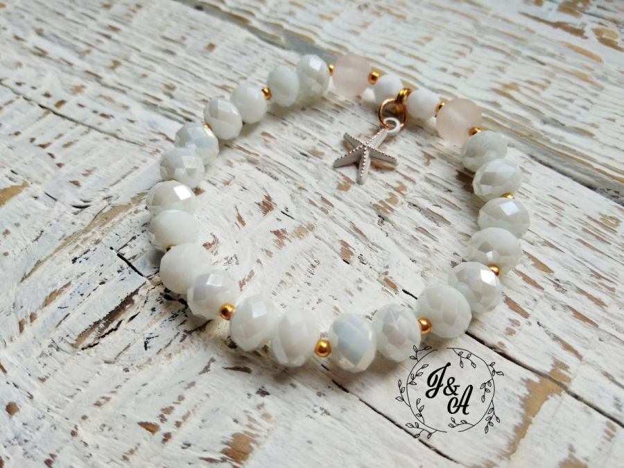 biało-złota rozgwiazda