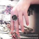 Rainbow shocking :: wyjątkowy duży pierścionek