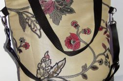 Torebka damska torba miejska tkanina kolor
