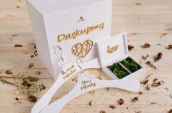 Duży zestaw ślubny -na koperty / obrączki