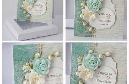 Kartka z pudełkiem - ślub 1b