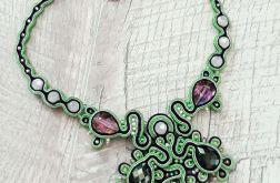 Naszyjnik Kryształowa zieleń