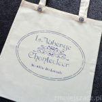 Torba bawełniana - paryski spacer
