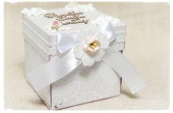 Exploding Box Pamiątka Chrztu Św. Dziewczynka