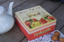 Romantyczna herbaciarka z koronką