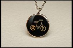 Wisior steampunk rower