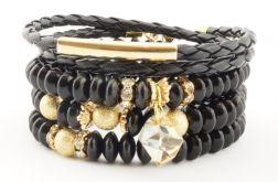 black glamour with Swarovski