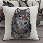 Poduszka Wilk - Kolekcja Zwierzęta