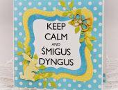 """Wielkanocny """"Keep calm"""" 1"""