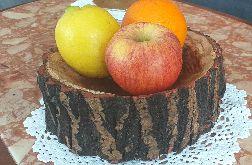 Miska drewniana handmade.