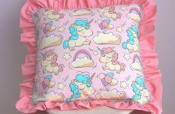 Poduszka dla miłośniczki jednorożców 45cm