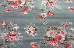 Tkanina bawełna- cygańskie róże