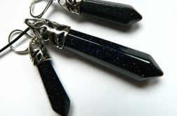 Dark goldstone, elegancki zestaw biżuterii