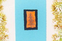 Kartka  świąteczna minimalizm 42