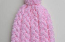 Czapka Light Pink