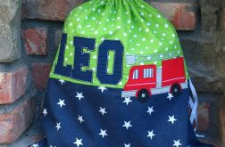 Worek dla dziecka - Wóz strażacki