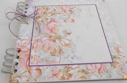 Album fioletowo różowy