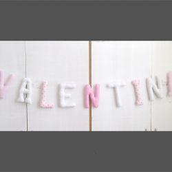 Literki bawelniane 18cm* VALENTINA*