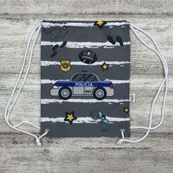 Worek Policja dla przedszkolaka