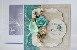 Kartka ślubna z personalizacją + pudełko 5