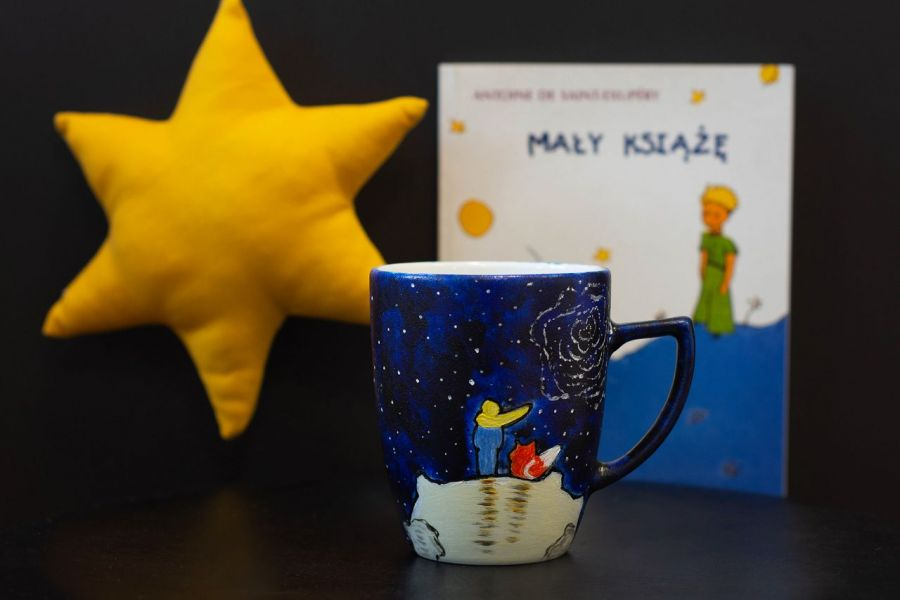 Kubek do kawy Mały Książę - null