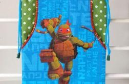 Wojowniczy żółw Ninja - worek ozdobny
