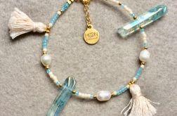 Boho Princess bransoletka perła kryształ