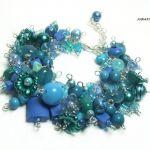 Blue monday, bransoletka z zawieszkami - null