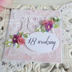 Kartka na 18 urodziny w pudełku 174 -