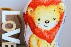 Poduszka - zabawka - Słodki lew