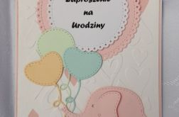 Zaproszenie na urodziny wzór 5