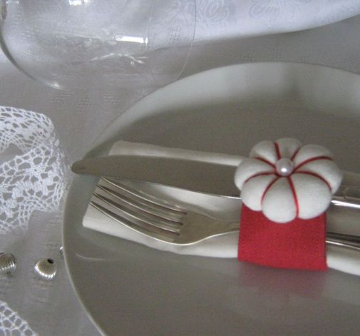 Pierścienie na serwetki- dekoracja stołu