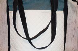 Torebka damska torba shopper biała