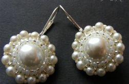 Perłowe rozetki