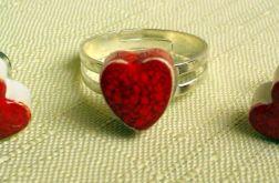 komplet biżuterii ceramiczny 1