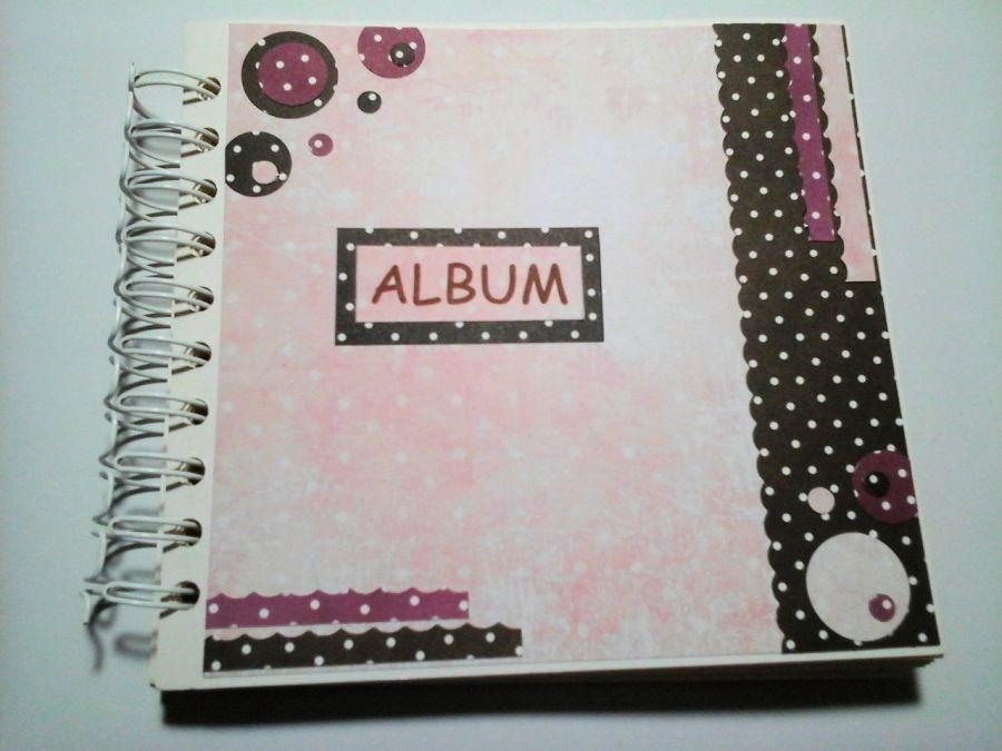 Album dla dziewczynki z kółeczkami