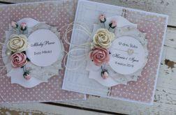 Kartka na ślub z pudełkiem - personalizacja 1