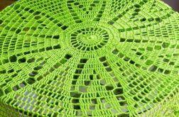 Serweta w zieleni