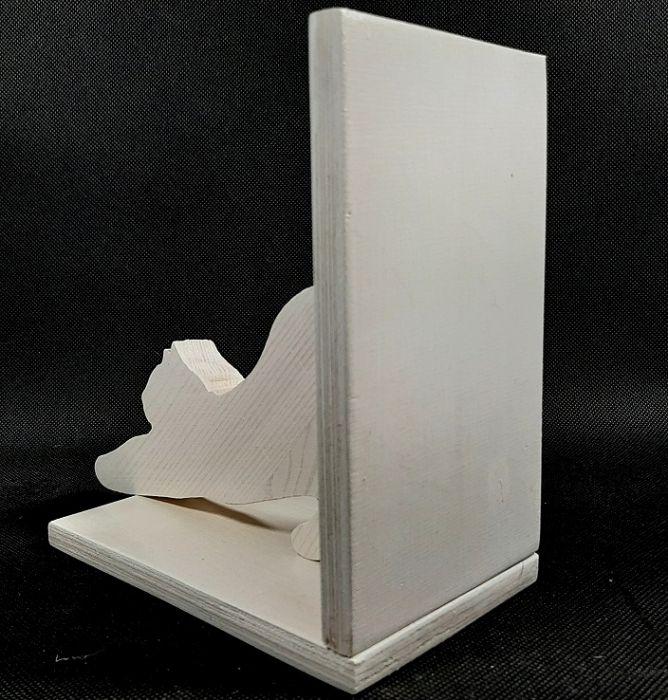 Podstawka pod książki  kotek przeciągający