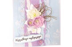 Kartka na ślub lub urodziny/imieniny - #669