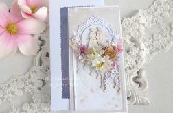 Ślubna kartka w pudełku 196