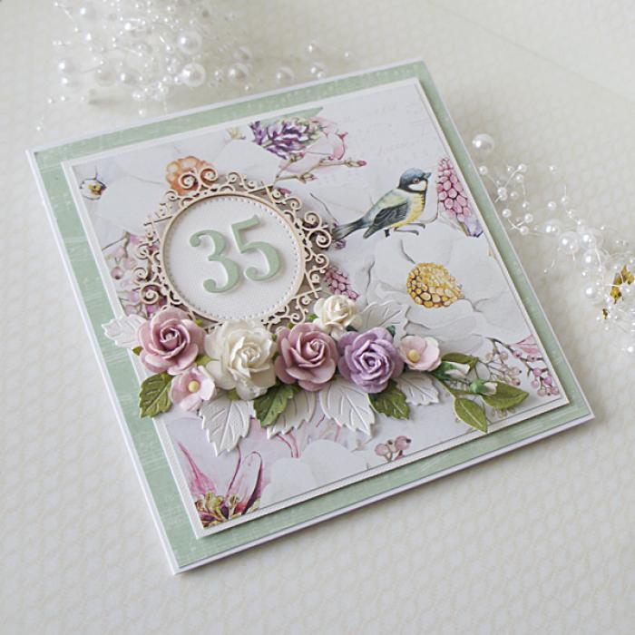Kartka urodzinowa w pudełku v.5