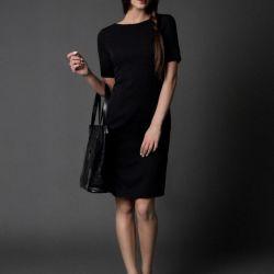 klasyczna sukienka ESTHER / czarna