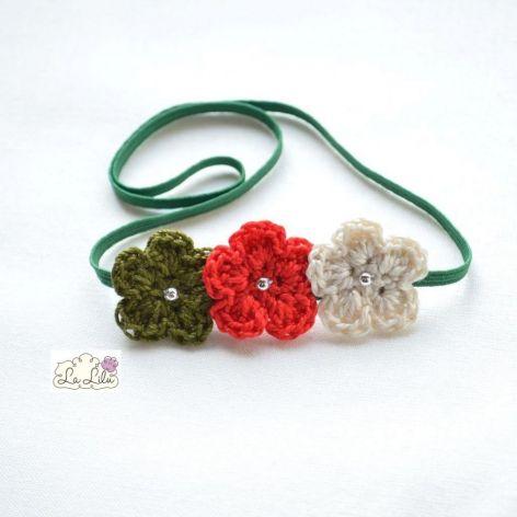 La Lilu...Opaska kwiatuszki
