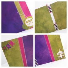 kolorowy album z konikiem /25x25cm