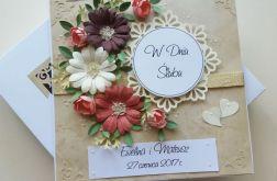 W Dniu Ślubu - kartka w pudełku